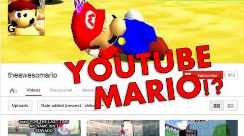 Super Mario 64 Bloopers: Youtube Mario?