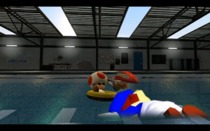 Swim, relax or drow=(