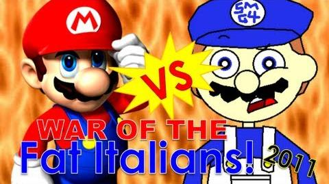 Super mario 64 bloopers war of the fat italians 2011
