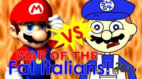 Super Mario 64 Bloopers: War of the Fat Italians 2011