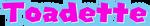 Toadette logo
