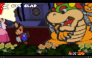 Bowser slap Mario