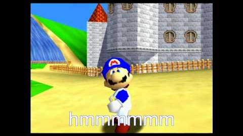 Super mario 64 bloopers hunt for the hero's clothes