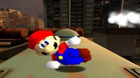 Retarded64 Mario and the retarded spaghetti factory