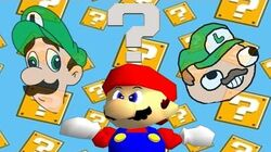 Retarded64 We're going on a Luigi hunt