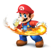 SSB4 Mario