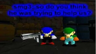 Super mario 64 bloopers smg3's plan to destory smg4 cause he felt like it