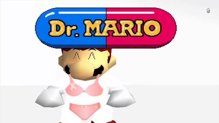 Dr. Mario in a Bikini