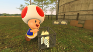 Mario Goes to the Fridge to Get a Glass Of Milk 205