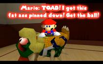 Mario on dead Bows--OkayForgetNames