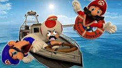 Retarded64 Mario's Boat Trip