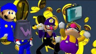 The Wacky Wario bros Money Mayhem