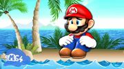 Mario Gets Stuck On An Island