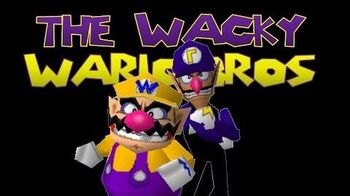 The Wacky Wario bros. the Winning Ticket