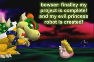 There's a Princess Peach Robot!;O;O