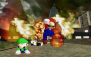 Mario Burning Down The School 20200511211017