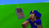 Steve as a police