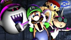 SMG4 Stupid Luigi's Mansion
