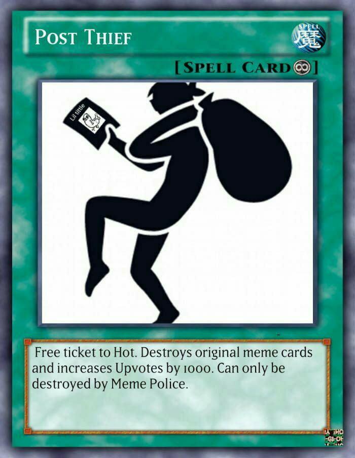 Post-Thief-Card