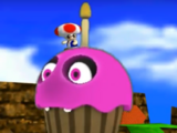 Flying Cupcake Monster