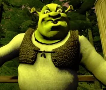 Gay Shrek porno