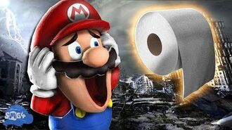 SMG4 Mario Runs Out Of Toilet Paper