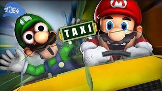SMG4 Super Mario Taxi