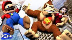 SMG4 Mario VS Donkey Kong