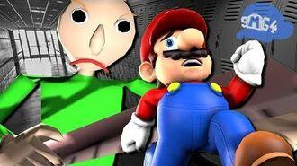 SMG4 If Mario was in... Baldi's Basics