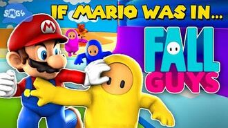 SMG4 If Mario was in... Fall Guys