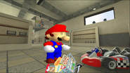 Mario Goes to the Fridge to Get a Glass Of Milk 023