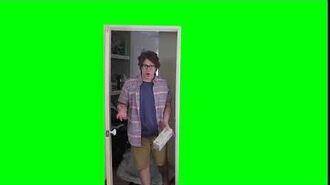 Maxmoefoe Door Green screen