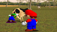 Mario Goes to the Fridge to Get a Glass Of Milk 219