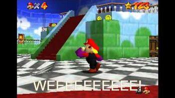 Super mario 64 bloopers the switcheroooveralls