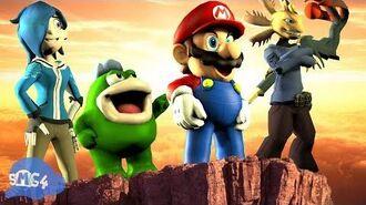 SMG4 Mario Saves Anime
