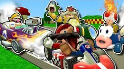 Retarded64 Stupid Mario Kart