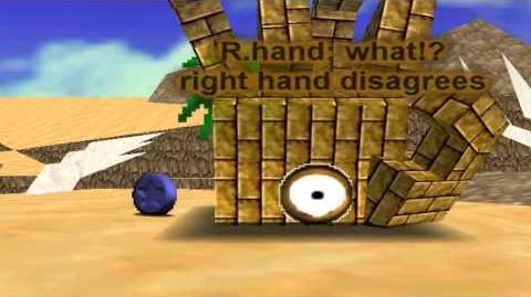 Super Mario 64 Bloopers: 2 Hands 1 Job