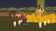 Mario Goes to the Fridge to Get a Glass Of Milk 250