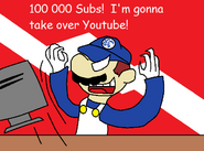 Congrats to 100 000 subs smg4 by lickried-d795wh7