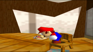 Mario Goes to the Fridge to Get a Glass Of Milk 002