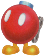 Bomb omb Buddy Artwork - Super Mario Galaxy 2