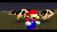 Mario Goes to the Fridge to Get a Glass Of Milk 268