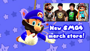 Mario The Scam Artist (SMG4 Merch Store 10)