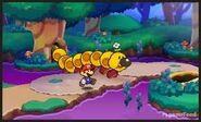 Wiggler Paper Mario 3DS