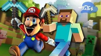 SMG4 If Mario Was in... Minecraft