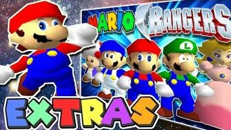 Mario's Extras Mighty Morphin' Mario Rangers