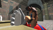Mario Goes to the Fridge to Get a Glass Of Milk 133