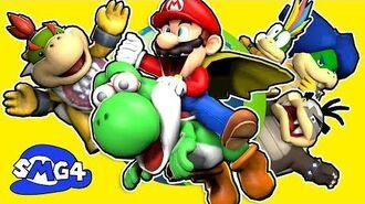 SMG4 Stupid Mario World