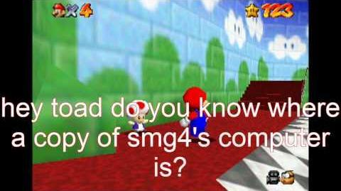 Super Mario 64 Bloopers: P-O-I-S-O-N-E-D Computer