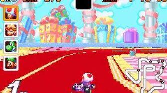 Mario kart super circuit - ribbon road